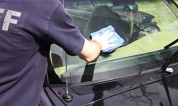 Полировка стекол авто своими руками