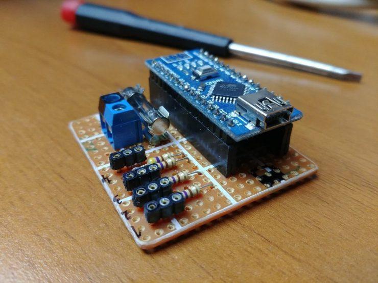 4-канальный цифровой светодиодный контроллер
