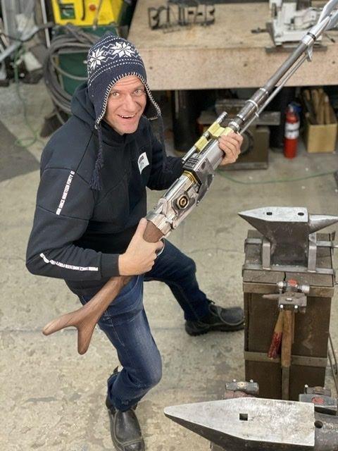 Штурмовая винтовка мандолорианцев (из металла)