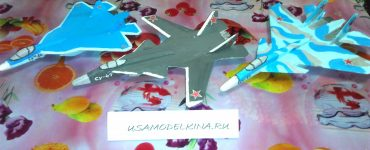 Самолетики метательные из потолочной плитки