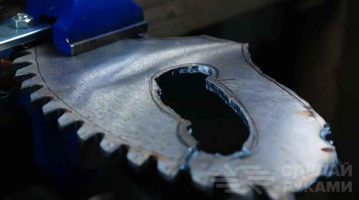 Нож-топорик для походов (делаем своими руками)