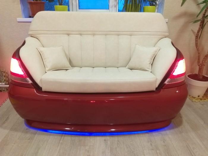 Оригинальный диван своими руками из задней части BMW 7 E65