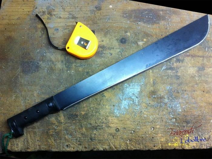 Как сделать ножны для мачете из ПВХ-трубы