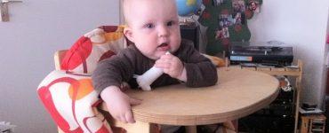 Детский стульчик для кормления из фанеры (чертежи)