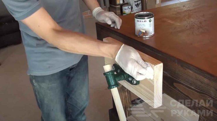 Столярный верстак в мастерскую (делаем своими руками)