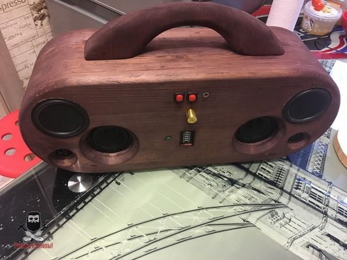Делаем деревянный бумбокс