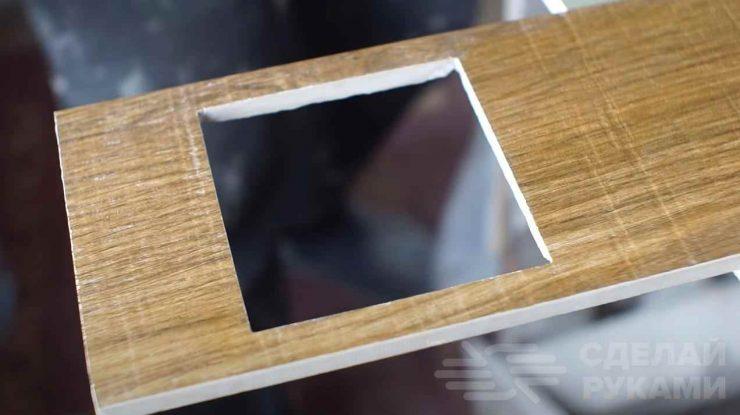 Как болгаркой вырезать аккуратное квадратное отверстие в керамогранитной плитке
