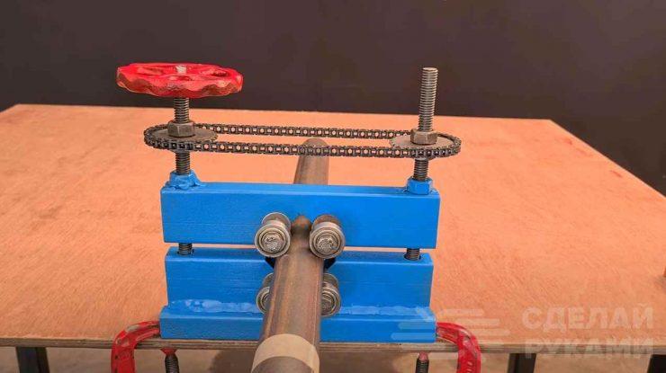 Как сделать трубные тиски для мастерской