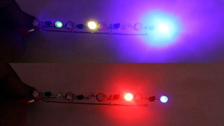 Как сделать простейшую хаотичную мигалку на любое количество светодиодов
