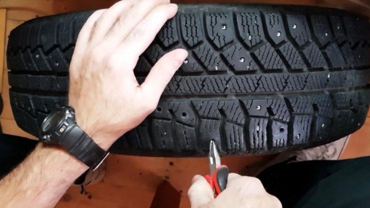 Ошиповка шин своими руками в домашних условиях