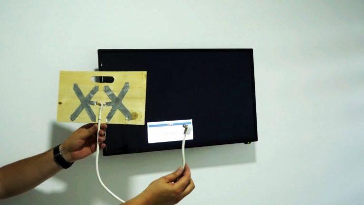 Как сделать простую антенну для цифрового ТВ из алюминиевой банки