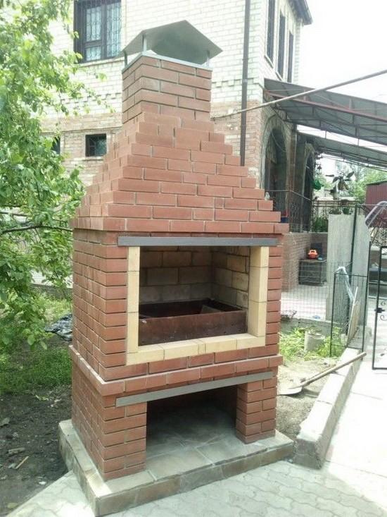 Делаем уличную печь для барбекю