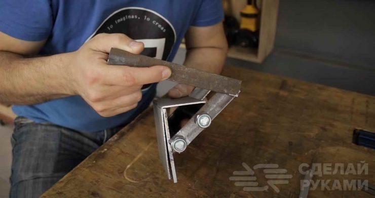 Самоделка из металлолома: как сделать переноску для листовых материалов