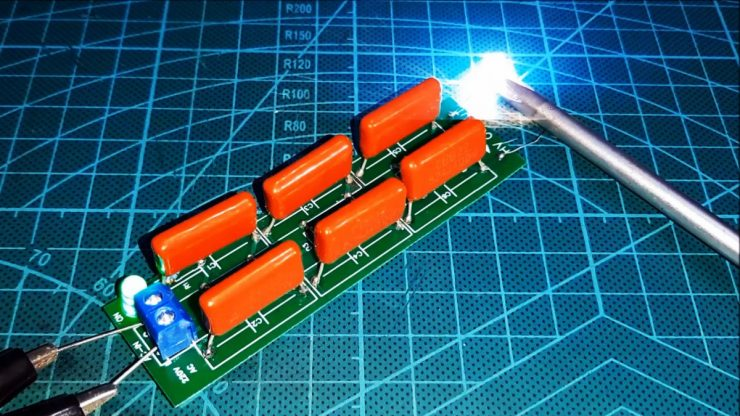 Как сделать высоковольтный повышающий преобразователь без транзисторов