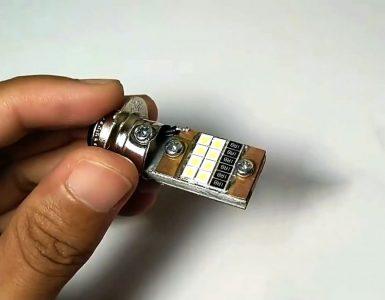 Как сделать мощную светодиодную лампочку из обычной