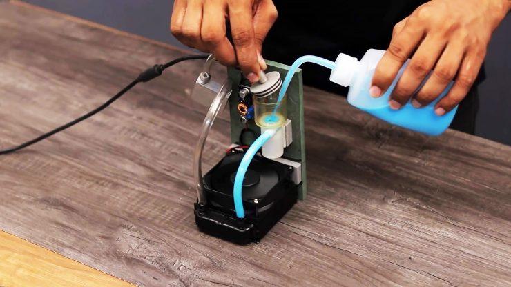 Мини система водяного охлаждения своими руками