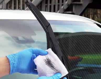Как быстро омолодить старые щетки стеклоочистителей
